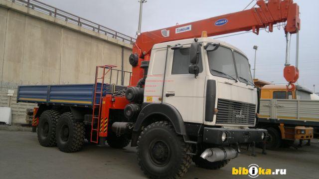 МАЗ 6317 Х9  c КМУ  KANGLIM KS1256G-II бортовой