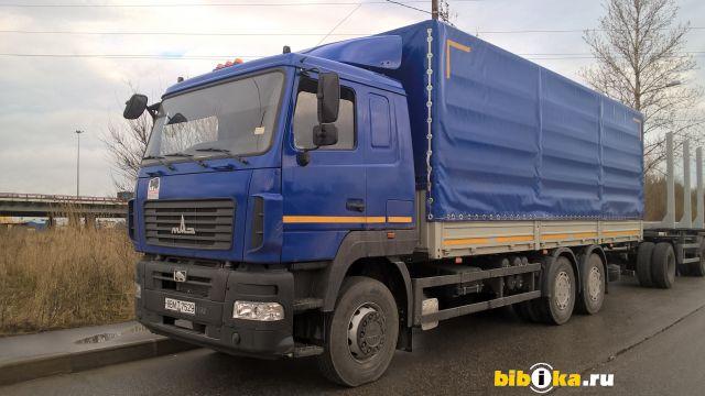 МАЗ 6312 С5-8521-010 бортовой- Тент