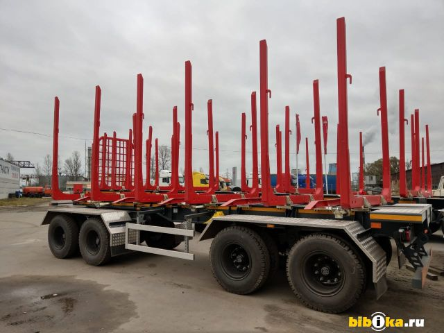 Стройремавто АПС 854000 прицеп  сортиментовоз  лесовоз