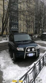 УАЗ 3163 Патриот 1 поколение 2.7 MT 4WD (128 л.с.) Лимитед