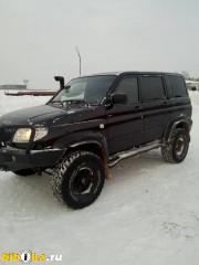 УАЗ 3163 Патриот 1 поколение [рестайлинг] 2.2 TD MT 4WD (114 л.с.) рестайлинг