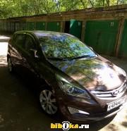 Hyundai Solaris 1 поколение [рестайлинг] 1.6 MT (123 л.с.)