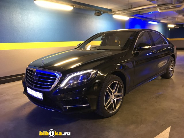 Mercedes-Benz S - Class W222 / C217 S 500 7G-Tronic Plus 4Matic длинная база (455 л.с.