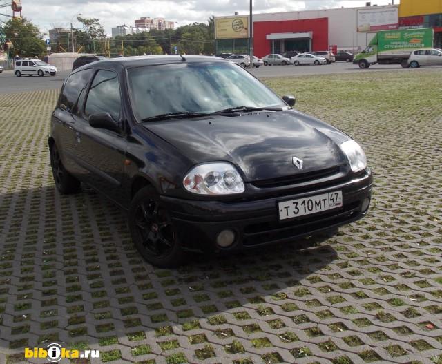 Renault Clio 1 поколение [рестайлинг] 1.4 MT (75 л.с.)