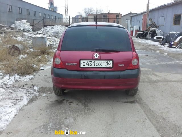 Renault Clio 2 поколение 1.4 AT (98 л.с.)
