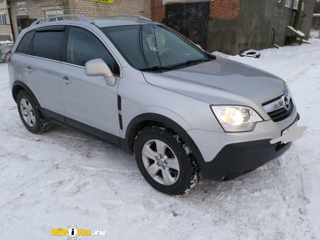 Opel Antara 1 поколение 2.4 AT AWD (140 л.с.) Enjoy
