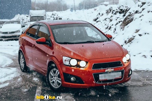 Chevrolet Aveo T300 1.6 MT (115 л.с.) LT