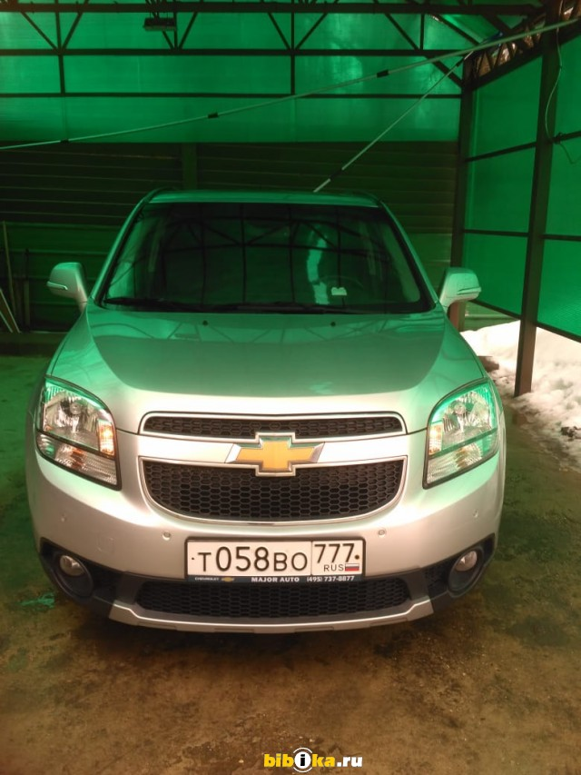 Chevrolet Orlando 1 поколение 1.8 AT (141 л.с.) LZ
