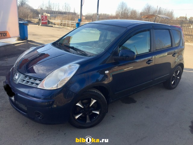 Nissan Note E11 1.4 MT (86 л.с.) Luxury