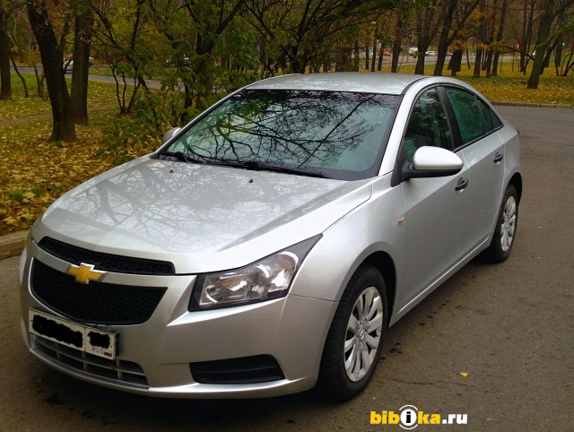 Chevrolet Cruze J300 1.6 AT (109 л.с.)
