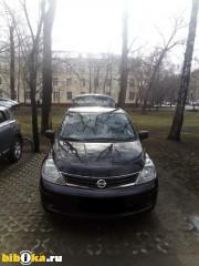 Nissan Tiida Рестайлинг I