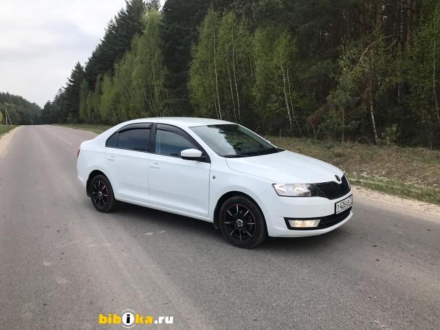 Skoda Rapid 1 6 MT 90 л.с. Ambition