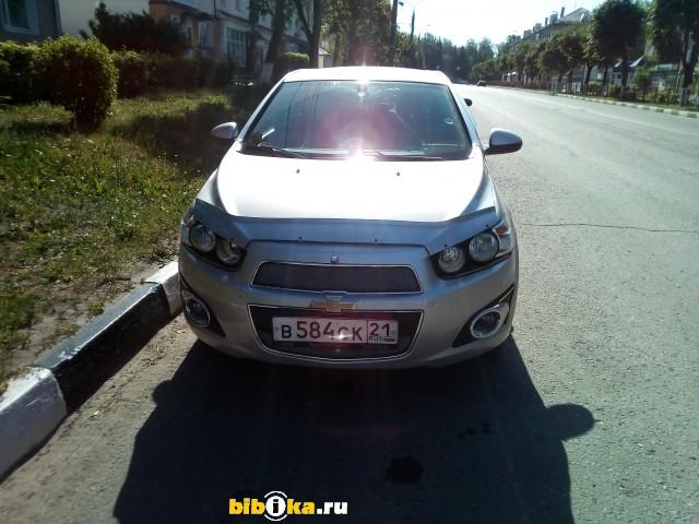 Chevrolet Aveo T300 1.6 AT (115 л.с.) LT
