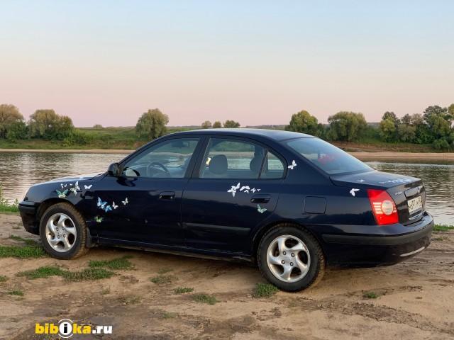 Hyundai Elantra XD [рестайлинг] 1.8 MT (132 л.с.)