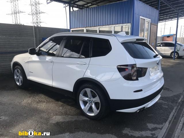 BMW X3 F25 xDrive28i AT (258 л.с.)