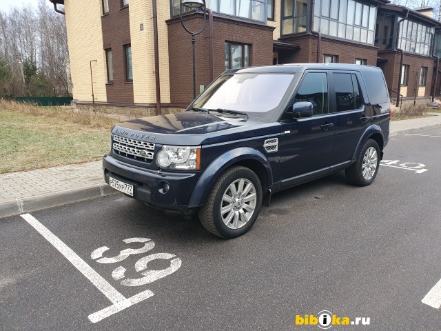 Land Rover Discovery 4 поколение 3.0 SDV6 4WD AT (249 л.с.)