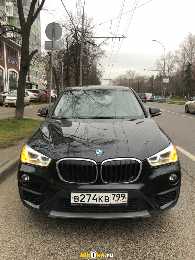 BMW X1 18i 1.5 sDrive AMT (140 л.с.)