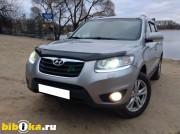Hyundai Santa Fe CM [рестайлинг] 2.4 AT 4WD (174 л.с.) Салон кожа