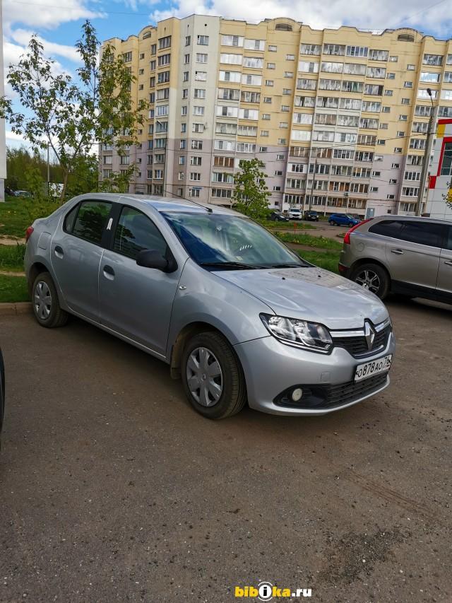 Renault Logan 2 поколение 1.6 MT (82 л.с.) вторая комплектация