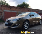 Opel Astra J [рестайлинг] 1.6 AT (115 л.с.)